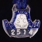 1984 Carlton Blues Member Badge