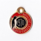 1970 Bathurst Leagues Club Member Badge