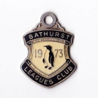 1973 Bathurst Leagues Club Member Badge
