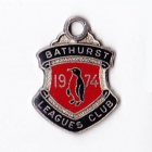 1974 Bathurst Leagues Club Member Badge
