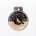 1986 Asquith Leagues Club Member Badge