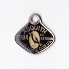 1984 Asquith Leagues Club Associate Member Badge