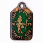 1978-79 Past Brothers Brisbane Leagues Club Member Badge
