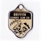 1990 Griffith Leagues Club Member Badge