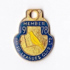 1978 Dapto Leagues Club Member Badge