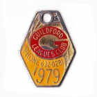 1979 Guildford Leagues Club Member Badge