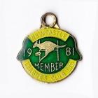 1981 Newcastle Leagues Club Member Badge