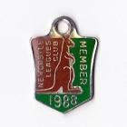 1988 Newcastle Leagues Club Member Badge