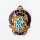 1912 Prahan Football Club Member Badge