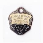 1968-69 Western Suburbs Football Club Member Badge