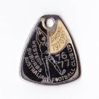 1976-77 Western Suburbs Football Club Member Badge