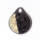 1977-78 Western Suburbs Football Club Member Badge