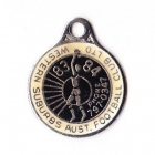 1983-84 Western Suburbs Football Club Member Badge