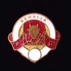 1960s Benalla AFL Football Club Pin Badge