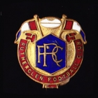 1960s Rutherglen AFL Football Club Pin Badge