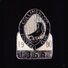 1980 Collingwood Magpies VFL Member Pin Badge No. 1368
