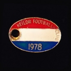 1978 Keilor AFL Football Club Member Pin Badge