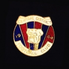 1964 Central District AFL Football Club Pin Badge