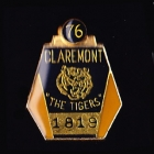 1976 Claremont AFL Football Club Member Pin Badge