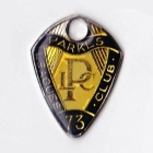 1973 Parkes Leagues Club Member Badge