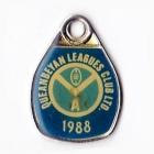 1988 Queanbeyan Leagues Club Associate Member Badge