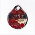 1984-85 Ryde Eastwood Leagues Club Member Badge
