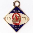 1977 Queensland Rugby League Club Member Badge