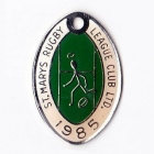1985 St Marys Rugby League Club Member Badge
