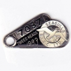 1983 Tweed Heads Rugby League Football Club Member Badge