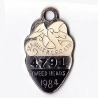 1984 Tweed Heads Rugby League Football Club Member Badge