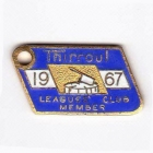 1967 Thirroul Leagues Club Member Badge