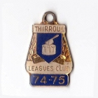 1974-75 Thirroul Leagues Club Member Badge