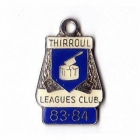 1983-84 Thirroul Leagues Club Member Badge