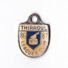 1986-87 Thirroul Leagues Club Member Badge