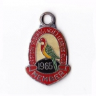 1965 Western Suburbs Newcastle Leagues Club Member Badge