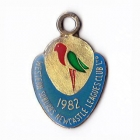 1982 Western Suburbs Newcastle Leagues Club Associate Member Badge