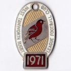 1971 West Tamworth Rugby League Club Member Badge