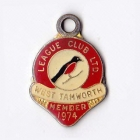 1974 West Tamworth Rugby League Club Member Badge