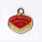 1974 West Tamworth Rugby League Club Associate Member Badge