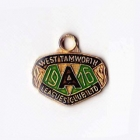 1976 West Tamworth Rugby League Club Associate Member Badge