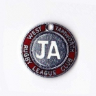 1971 West Tamworth Rugby League Club Junior Associate Member Badge