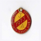 1973 West Tamworth Rugby League Club Junior Associate Member Badge