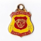 1979-80 Waratah Mayfield Leagues Club Member Badge
