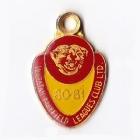 1980-81 Waratah Mayfield Leagues Club Member Badge