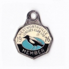 1976 Wentworthville Leagues Club Member Badge