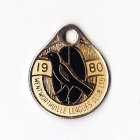 1980 Wentworthville Leagues Club Member Badge