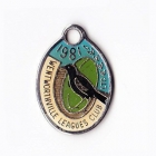 1981 Wentworthville Leagues Club Member Badge
