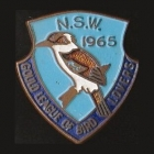 1965 Gould League of Bird Lovers NSW Member Badge Pin