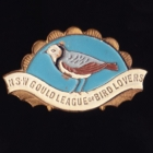 1948 Gould League of Bird Lovers NSW Member Badge Pin