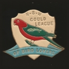 1950 Gould League of Bird Lovers NSW Member Badge Pin
